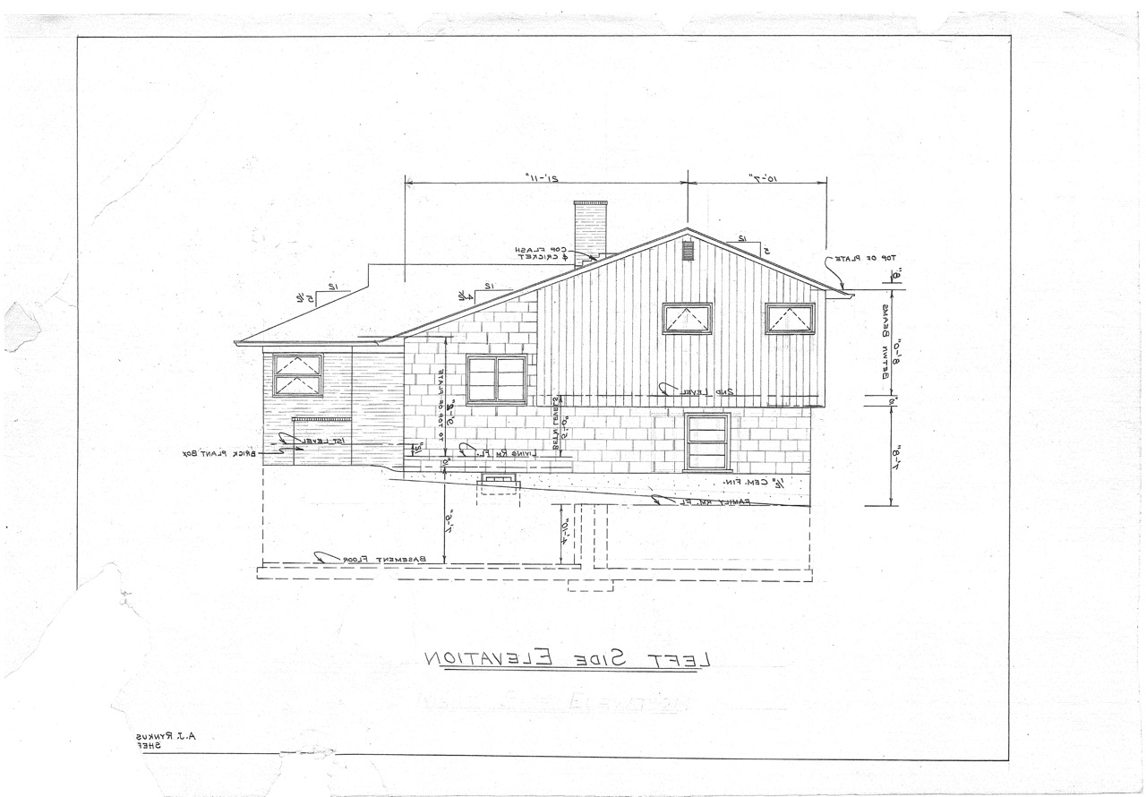 Side split level house plans house design plans for Split plan house designs