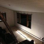 Lights down, priming