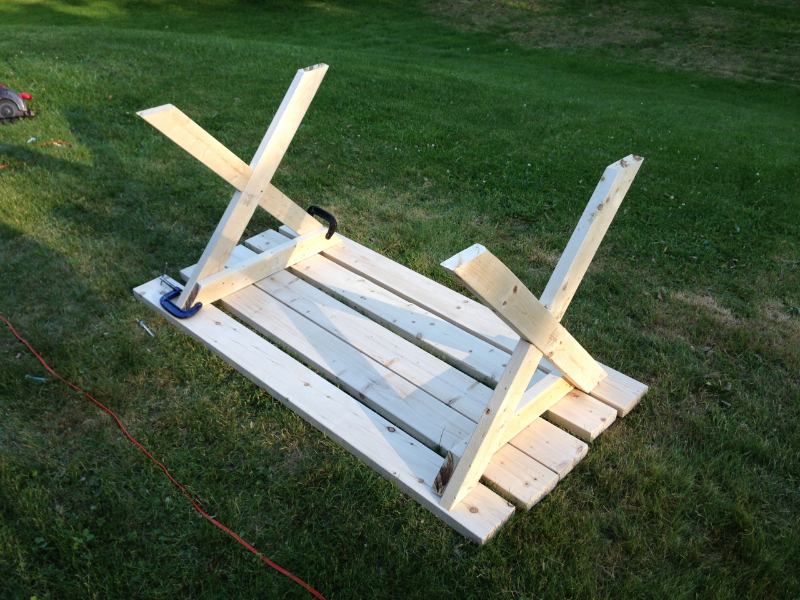 picnic table template 2